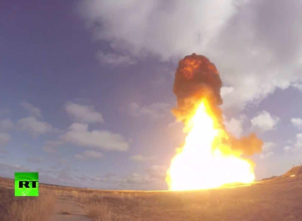 Минобороны России провело испытательные пуски новой ракеты системы ПРО
